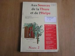 AUX SOURCES DE LA THURE & DE L´ HELPE 2  /  1998 Régionalisme Archive Chevrotine Automobile Guilick Vélodrome Rance Vél - Culture