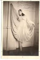 NORA HAYDEE MARTINEZ DANSEUSE BAILARINA CLASICA CLASSIC DANCER AUTOGRAPH AUTOGRAPHE NOT ISSUED ANNÉE 1951 GECKO - Autogramme & Autographen