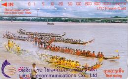 LAOS BOAT RACING 300U UT 1998 - Laos