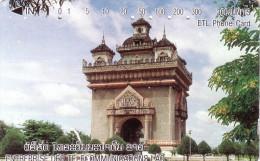 LAOS  TEMPLE 300U UT - Laos