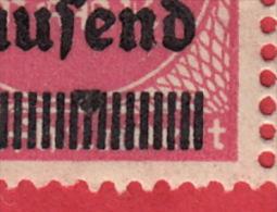 Schöne Abart (3 Vezes) Auf Dem Nr Mi 295 ** / Drei Stücke 1923,  Repetitive Abart - Unused Stamps