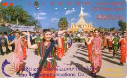 LAOS  THAT LUANG FESTIVAL 200U UT 1998 - Laos