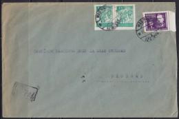 6726. Yugoslavia, 1948, R-letter From Izbiste To Belgrade - 1945-1992 Socialist Federal Republic Of Yugoslavia