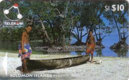 SALOMON CANOE 10$ Ut N° 03SIC...... - Solomoneilanden
