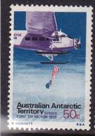 1973. AAT. AUSTRALIAN ANTARCTIC TERRITORY AIRCRAFT. DEFINITIVE 50c FORD TRI-MOTOR MUH - Australian Antarctic Territory (AAT)