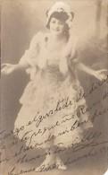 MANOLITA SILLEZ DANSEUSE BAILARINA DANCER AUTOGRAPH AUTOGRAPHE NOT ISSUED ANNÉE 1920 VINTAGE GECKO - Autographs