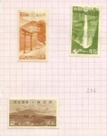 Japon N°279, 280, 283 Neufs Avec Charnière Côte 6.50 Euros - Unused Stamps