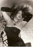 ALIANA NAVA NUDE NUS XXX SEXY DANSEUSE BAILARINA AUTOGRAPH AUTOGRAPHE STRIPPER EDIT.LUXARDO ITALY GECKO - Autographs