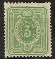 Alemania Imperio 036 * Foto Exacta. 1875. Charnela - Allemagne