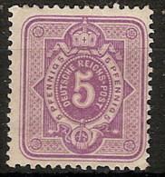 Alemania Imperio 037 * Foto Exacta. 1875. Charnela - Allemagne