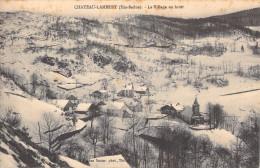 CHATEAU LAMBERT - LE VILLAGE EN HIVER - Autres Communes