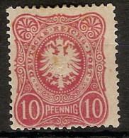 Alemania Imperio 038 * Foto Exacta. 1875. Charnela - Allemagne