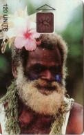 VANUATU GENS DE VANUATU VIEIL HOMME OLD MAN  120U UT RARE EN UTILISE RARE IN USED - Vanuatu