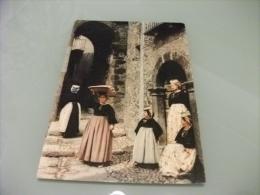 COSTUMI COSTUMI D'ABRUZZO SCANNO PORTATRICE DI PANE - Costumi