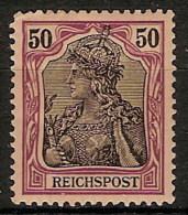 Alemania Imperio 059 * Foto Exacta. 1900. Charnela. - Ungebraucht