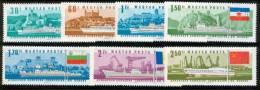 HUNGARY - 1967.Danube Commission Cpl.Set  Mi:2323-2329.MNH!! 22.00 EUR - Nuevos