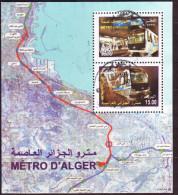 Algérie - Métro D'Alger- Bloc Feuillet Oblitéré N° YT 17 - Algerien (1962-...)