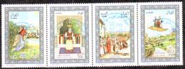 Algérie - Les Contes - Timbre Oblitéré N° YT 1551/1552/1553/1554 - Algerien (1962-...)