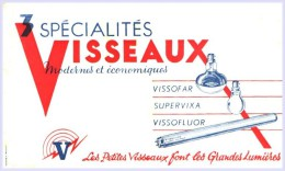 - BUVARD -  Ampoules VISSEAUX  Petites Taches Pli - Wash & Clean