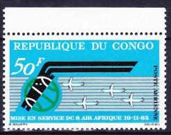CONGO Poste Aerienne 1963 YT N° PA 13 ** - Congo - Brazzaville