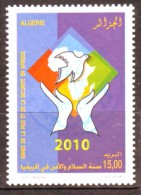 Algérie - Anée De La Paix Et De La Sécurité En Afrique - Timbre Oblitéré N° YT 1570 - Algerien (1962-...)