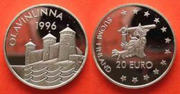 Finland 20 Euro 1996 Olavinlinna - Finlande