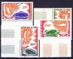 CONGO Poste Aerienne 1964 YT N° PA 21 à 24 ** - Congo - Brazzaville