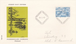 Finland FDC: 1969 Norden   (G71-8) - FDC