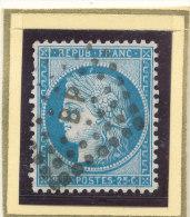 N°60 SUR FRAGMENT NUANCE ET OBLITERATION. - 1871-1875 Cérès