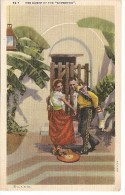 COSTUMS VESTUARIO THE DANCE OF THE SOMBRERO MEXICO MEJICO EDIT.C.T & Co NON CIRCULEE GECKO - Kostums
