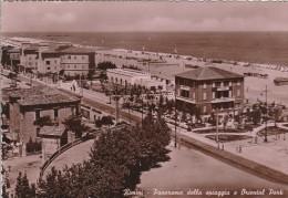 RIMINI - PANORAMA DELLA SPIAGGIA E ORIENTAL PARK - Rimini