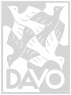 DAVO 39142 Kosmos Populair Slipcase - Groß, Grund Schwarz