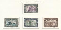 ITALIA REGNO 1930 MILIZIA III USATI OBLITERES FINE USED GESTEMPELT - 1900-44 Victor Emmanuel III.