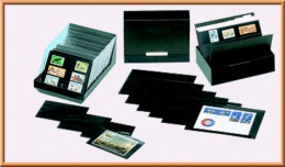 Lindner 870 Boîte De Rangement (sans Cartes De Rangement) - Classificatori