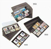 PRINZ Steckkarten, 148 × 85 Mm, 2 Streifen, Ohne Deckfolie, 100 Stück - Stockbooks