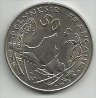 Polynesie Francaise French Polynesia 50 Francs 1975. - Polynésie Française