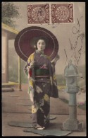 CINA (China): Postcard Sent In 1909 - Storia Postale