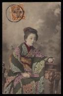 CINA (China): Postcard Sent In 1910 - Storia Postale