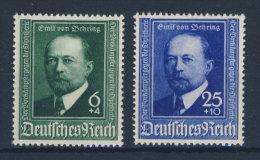 Deutsches Reich Michel No. 760 - 761 ** postfrisch