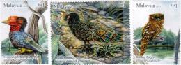 2013 Peacock Pheasant Hornbill Owl Cat Bird Malaysia Stamp MNH - Maleisië (1964-...)