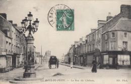 CPA - La Haye Du Puits - La Rue Du Château - Other Municipalities