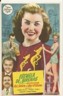 LOCANDINA CINEMA SPAGNA-ESCUOLA DE SIRENAS -CON R.SKELTON E.WILLIAMS -ATTORI -FILM - Plakate & Poster