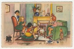 Enfants           Humoristique        Papotages.... Et Potins.... - Cartes Humoristiques