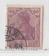 MiNr.92II.b O Deutschland Deutsches Reich - Oblitérés