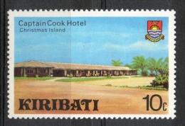 """Kiribati 1980 - Albergo """"Capitano Cook"""" """"Captain Cook"""" Hotel MNH ** - Kiribati (1979-...)"""