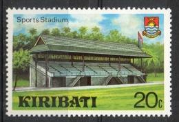 Kiribati 1980 - Stadio Stadium MNH ** - Kiribati (1979-...)