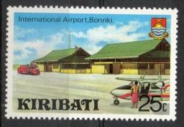 Kiribati 1980 - Bonriki Aeroporto Internazionale International Airport MNH ** - Kiribati (1979-...)