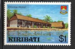 Kiribati 1980 - Albergo Otintai Hotel MNH ** - Kiribati (1979-...)