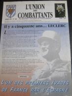 L' Union Des Combattants N° 109 (Anciennement Évades De France - Manana) 1997 : Il Y A 50 Ans, Leclerc - Histoire