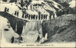 05  BRIANCON  Manoeuvre Du 159° En Hiver - Briancon